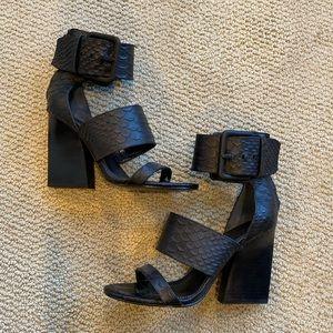 Sigerson Morrison python heels